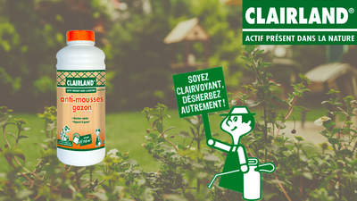 Anti-mousse gazon Clairland